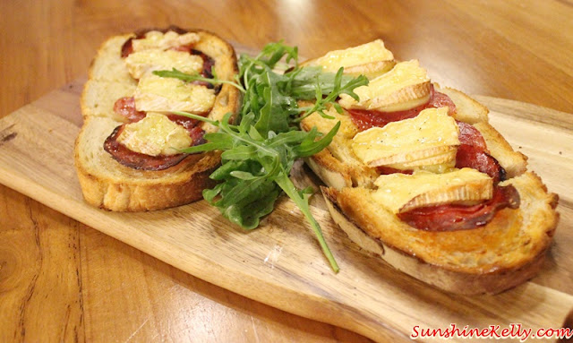 Turkey Chorizo, Camembert, Honey Sandwich, La Casa, Verve Suites, Mont Kiara,