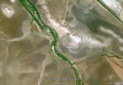 Vista aérea de la zona