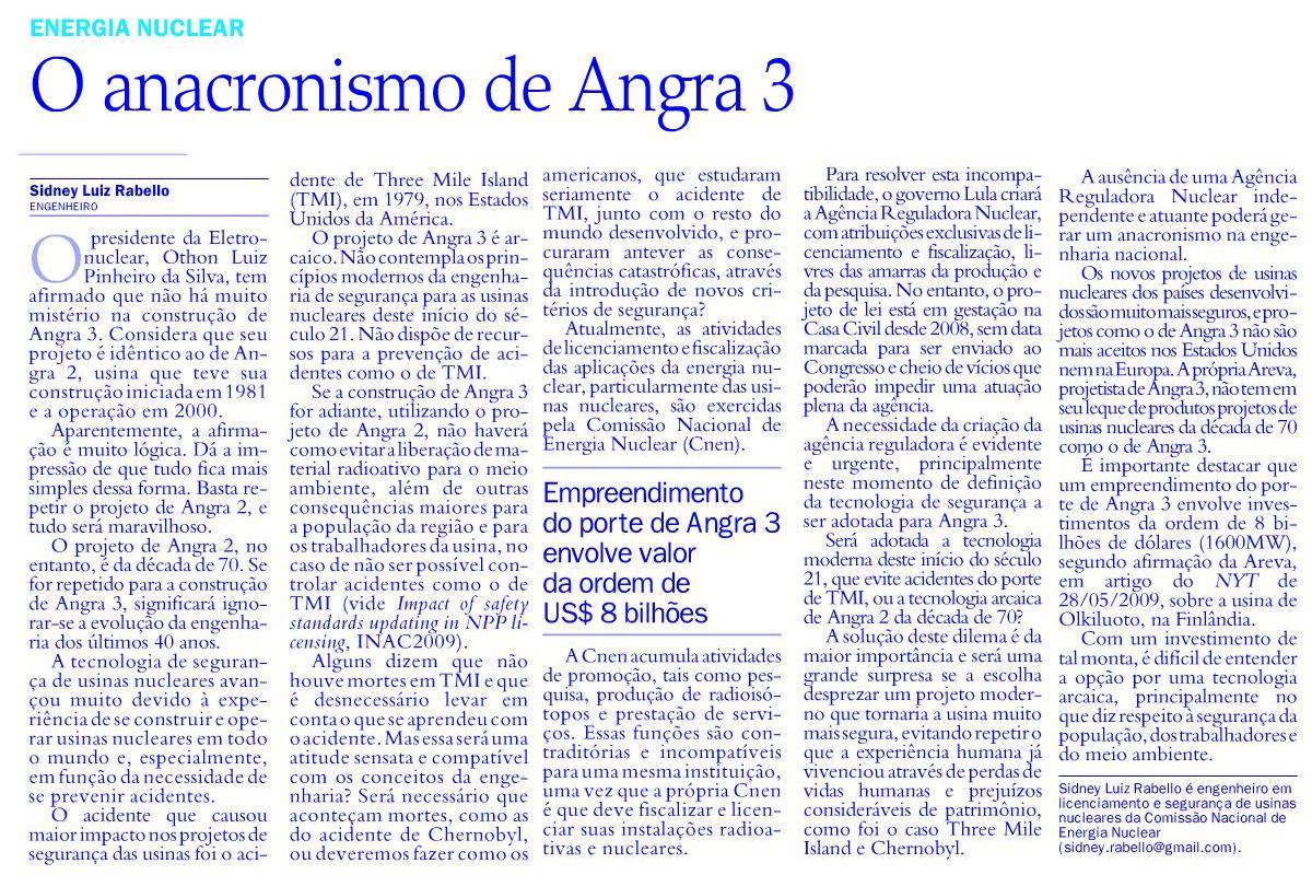 Jornal do Brasil 2010