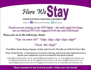 Here We Stay urging community to make statement on TNT