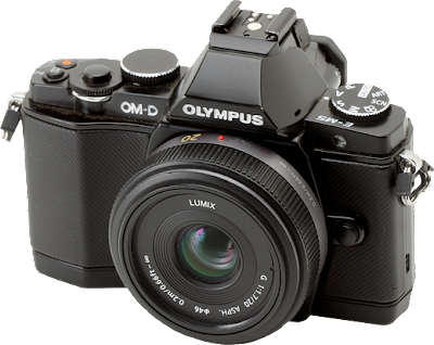 Olympus OM-D E-M5 e obiettivo Panasonic 20mm f/1.7