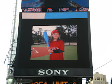 Chloe on the Big Screen in Times Square 09/22/12