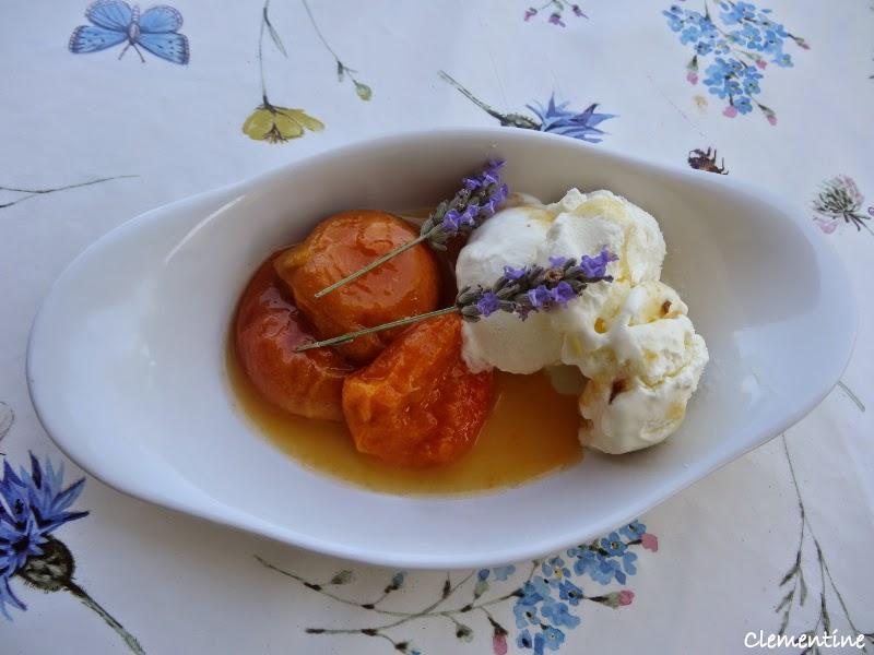 Le blog de clementine glace la lavande - Frigo qui fait de la glace ...