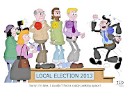Local Election. Cartoon No 336 of 365. It's the local elections today.