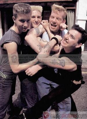 Mick, RJ, Ginger & Paul .