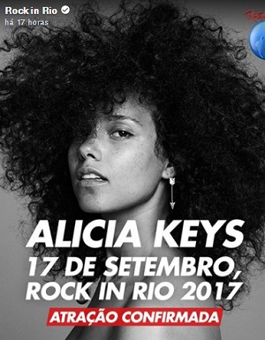 Filme Alicia Keys - Rock in Rio 2017 Torrent