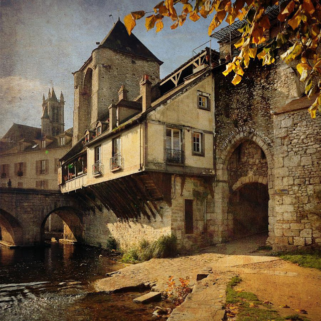 Moret-sur-Loing, en Francia