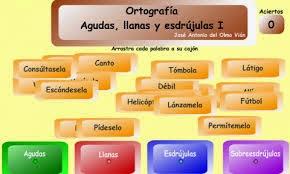 http://www.juntadeandalucia.es/averroes/colegiovirgendetiscar/profes/trabajos/agudas_llanas_esdrujulas/agudas_llanas_esdrujulas.html