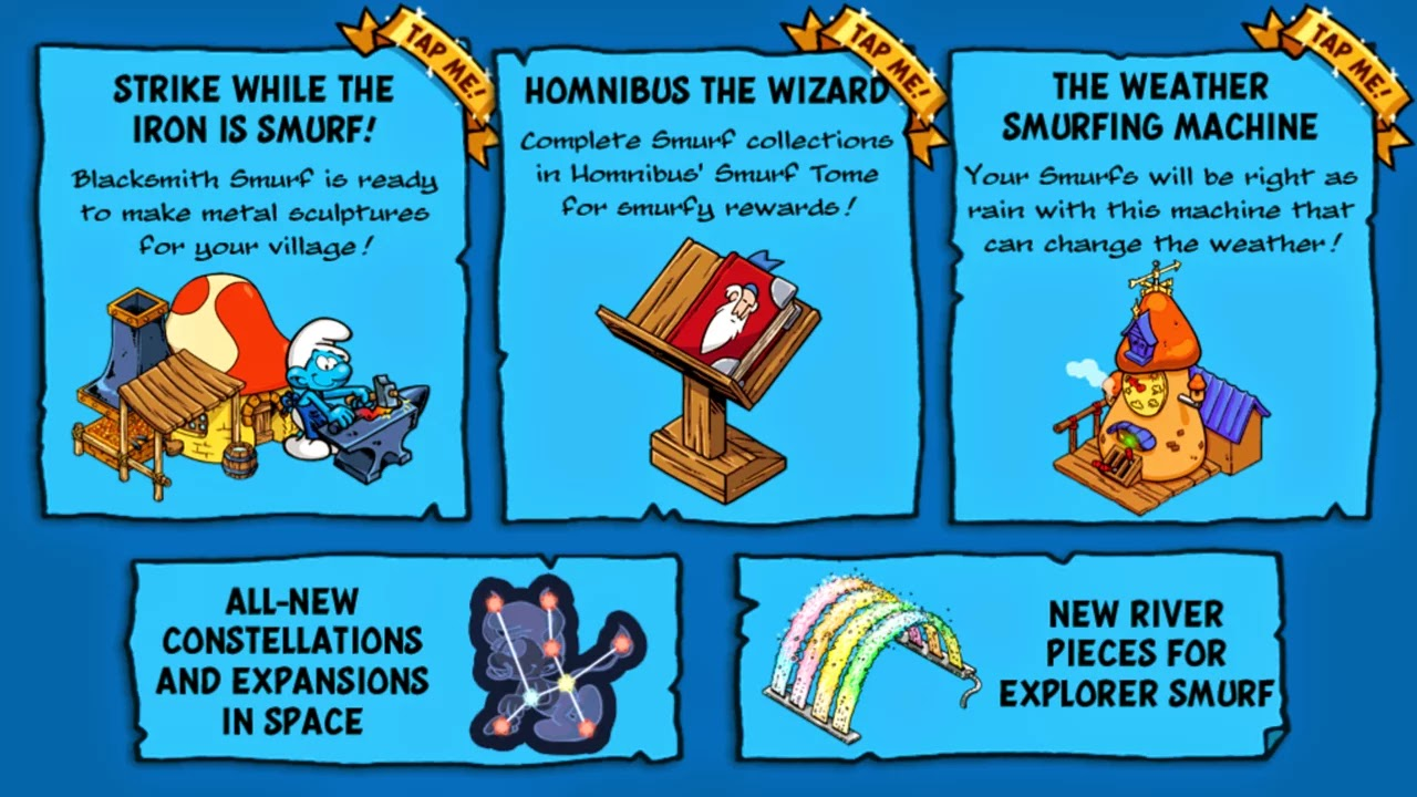 Smurfs Village v1.4.1a Mod [Unlimited Smurf Berry & Money]