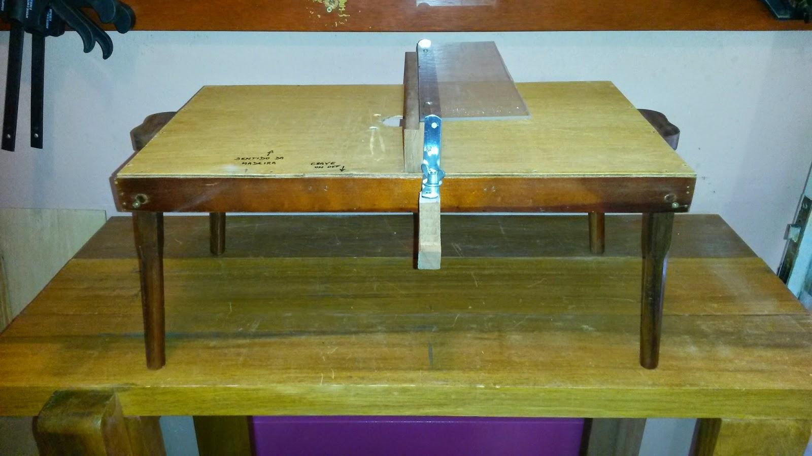 Oficina do Quintal: Como fazer uma bancada para tupia Parte III #674613 1600x900