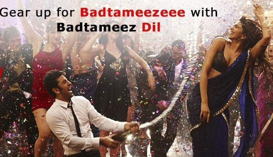 Badtameez Dil full HD Song with Lyrics