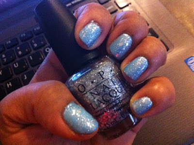 Chanel Coco Blue and OPI Crown Me Already!