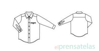 Patrón camisa Burda niño
