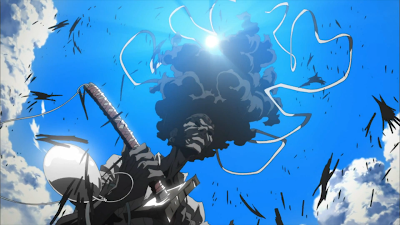 A very pretty scene in Afro Samurai
