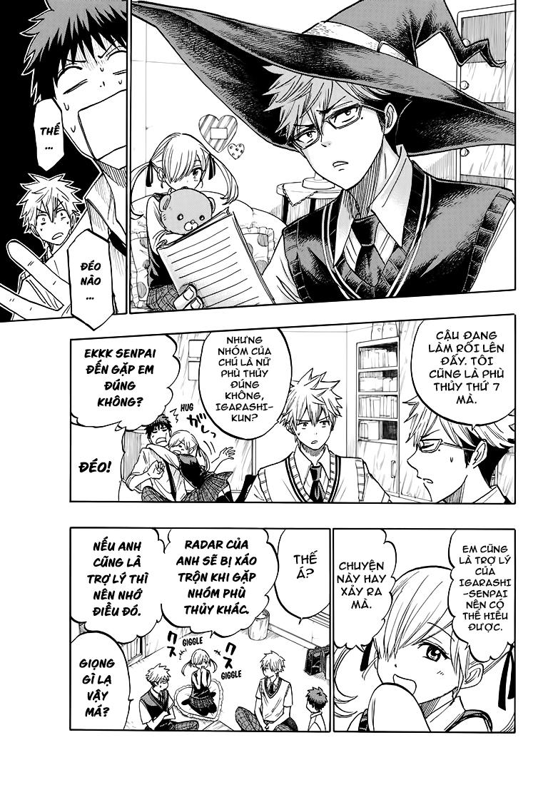 Yamada kun to 7 nin no Majo Chap 219 - Trang 17