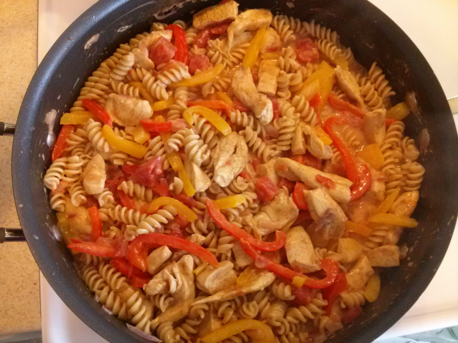 Grasping for Reality: Cajun Chicken Pasta (on the lighter ...