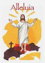 vous êtes le peuple de la Résurrection, vous êtes un peuple pascal et l'Alléluia est votre chant ! Paques6