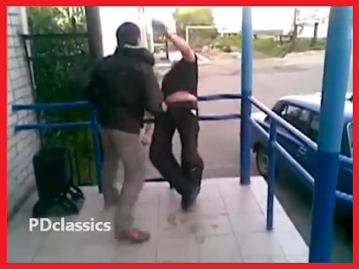 Bouncer, Gets Knocked Out, VIDEO, fight, Russia, tapandaola111