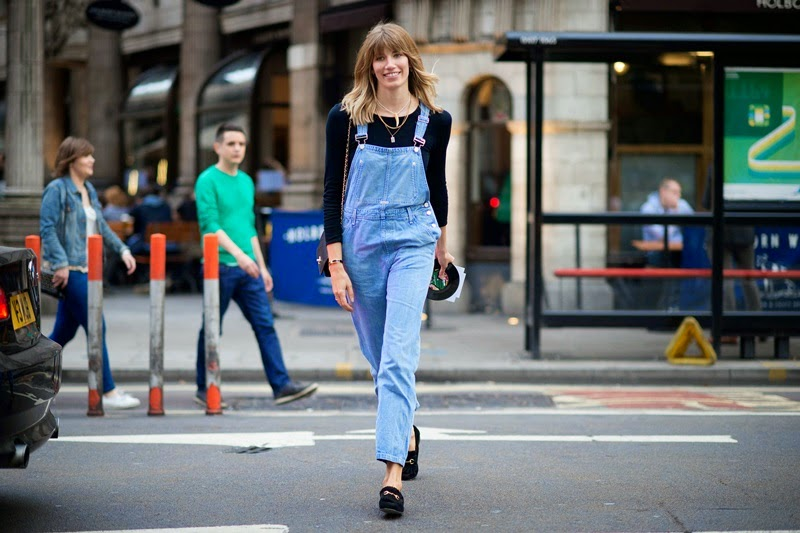 lfw, london fashion week, s/s 2015, fashion, street style, style, outfits, inspiration, poncho, dungarees, suit, london, fashion week