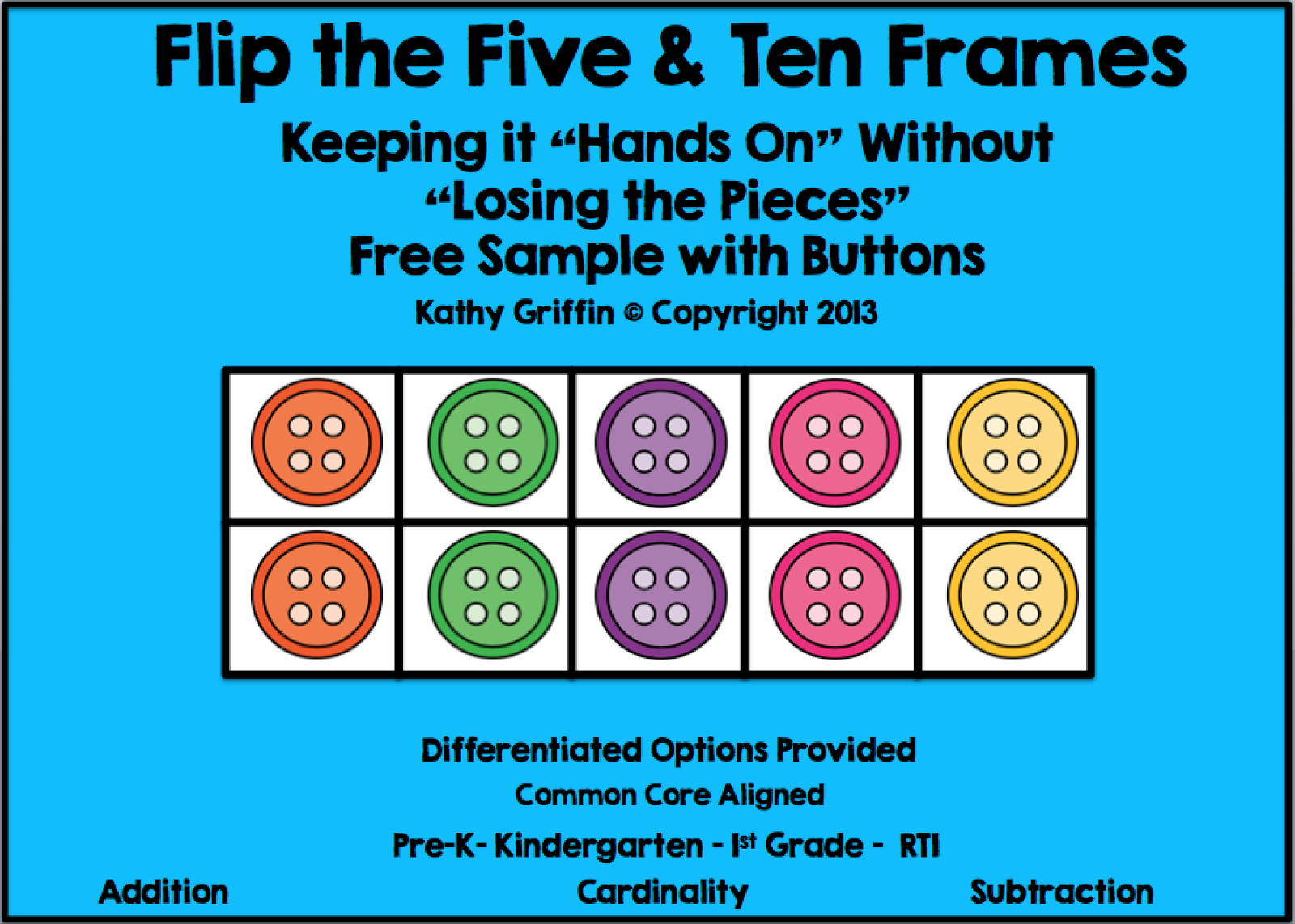 Kathy Griffin\'s Teaching Strategies: Pete the Cat, Math, & a Flip ...