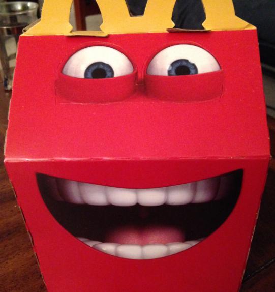 Top Danielle's Dish: Review: McDonald's Happy Meal Mascot BA31
