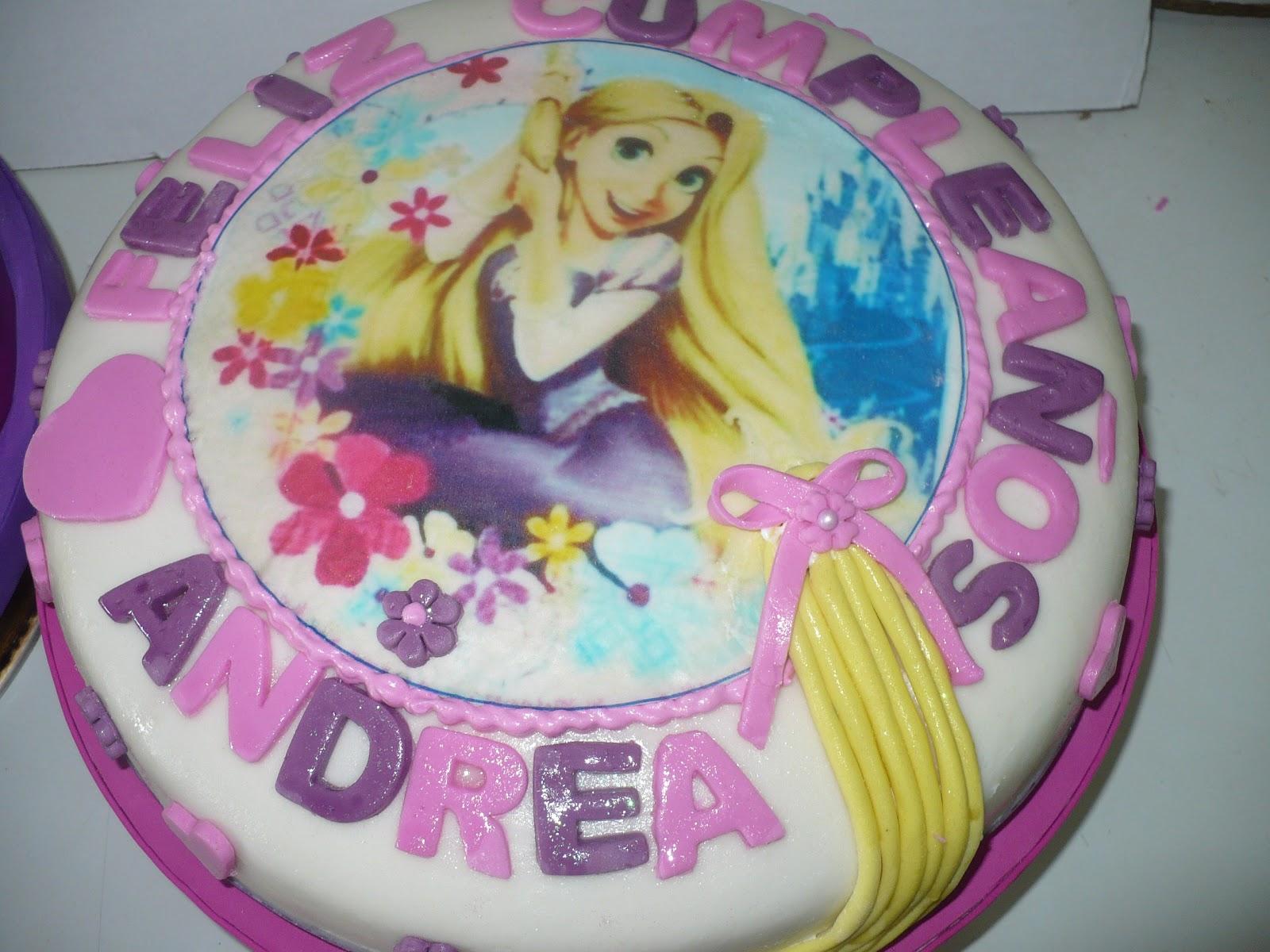 Sra. América: Cumpleaños de Rapunzel- Enredados