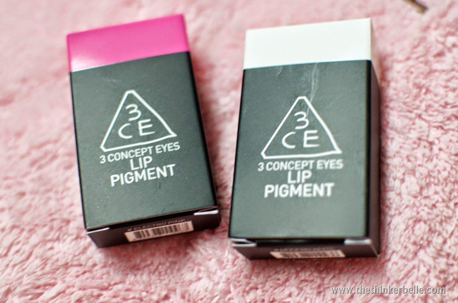 3CE Lip Pigment; 3CE Lip Pigment Review; 3CE Lip Pigment Tutorial; 3CE Lip Pigment Review Electro Pink; 3CE Lip Pigment Review Modern White