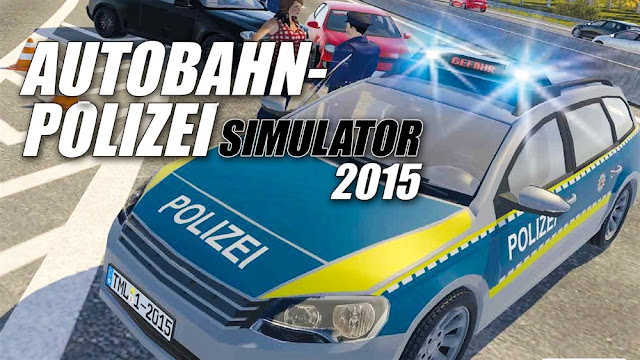 Autobahn Police Simulator Free Download Poster
