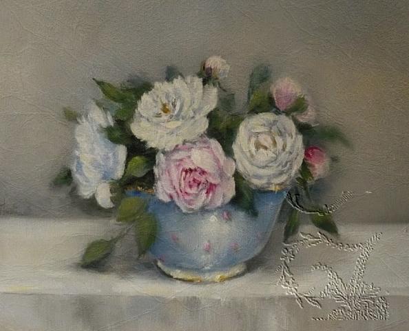 Roses & other seasons : The little french country cottage: Héllebore, jacinthes et bouquet de ...