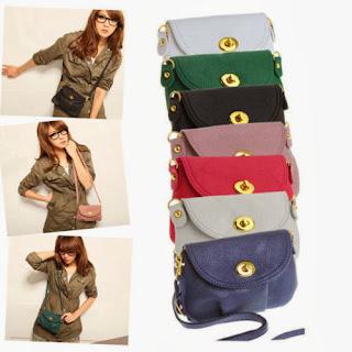 New Fashion PU Leather Crossbody Satchel Shoulder Messenger Bag Women Handbag