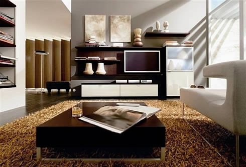 Minimalist living room ideas home interior ideas for Minimalist living ideas