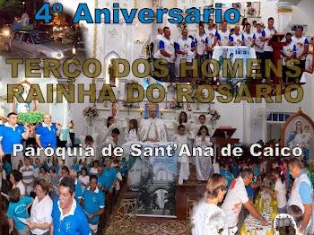 Fotos do 4º Aniversário do Terço do Rosário - Paroquia de Sant'Ana