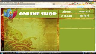 Membuat Web dengan Photoshop CS5 | putra PANTURA