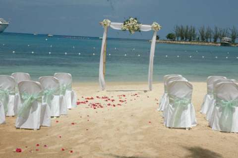 Beach Wedding Table Centerpieces