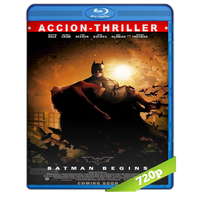Batman 5 Inicia (2005) BRRip 720p Audio Trial Latino-Castellano-Ingles 5.1