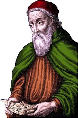 Américo Vespucio en la vejez