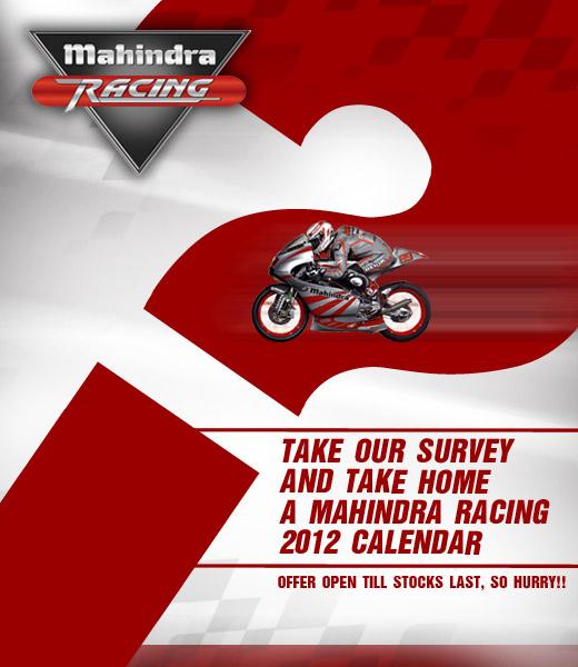 free Mahindra Racing 2012 Calender