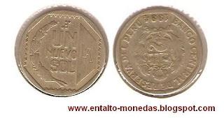 1 nuevo sol peru 1994
