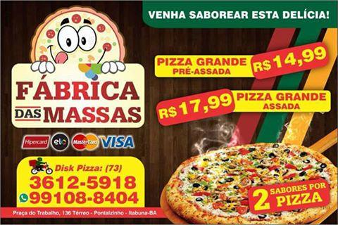 FABRICA DAS MASSAS  3612-5918