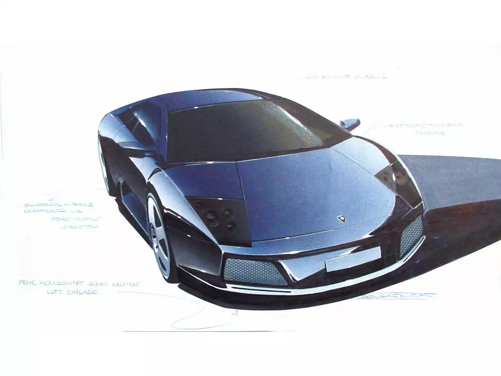 Hình ảnh siêu xe Lamborghini Murcielago Sketch 2002 & nội ngoại thất