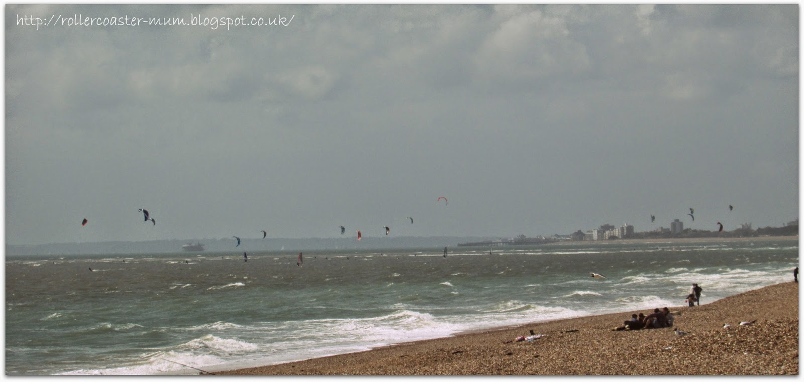 Kitesurfing from Hayling Island