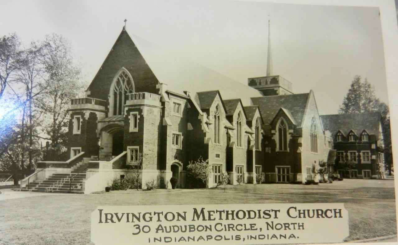 Irvington Methodist Church C1930