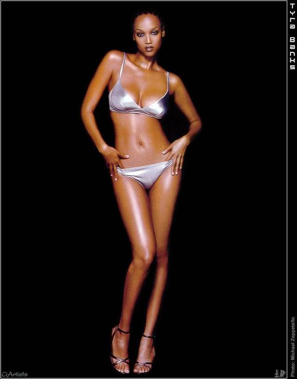 Tyra Banks Hairstyle Trends Pictures Of Tyra Banks In Bikini