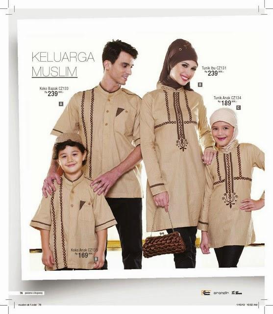 83 10 contoh baju muslim ibu dan anak terbaru baju Baju gamis couple ibu ayah anak