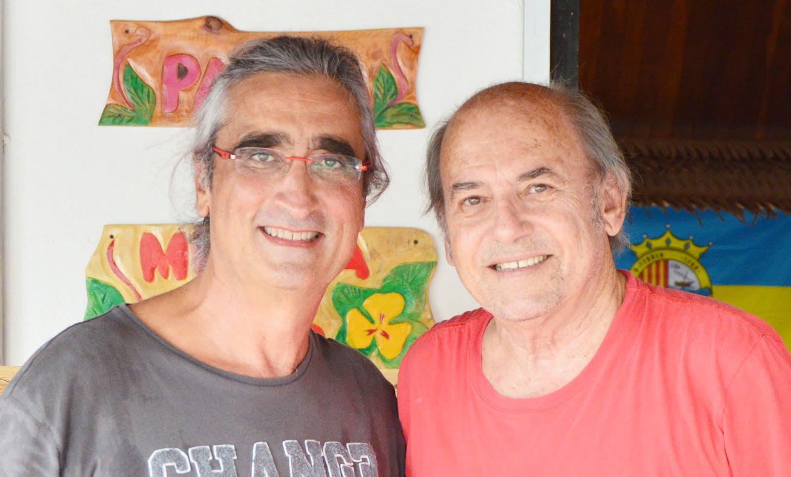 Con Leonardo Perucci