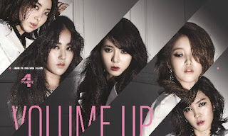 4Minute Volume Up 3rd mini-album cover