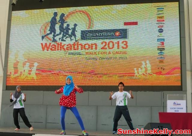 Guardian Walkathon 2013, i-City Shah Alam, Guardian, fitness, exercise
