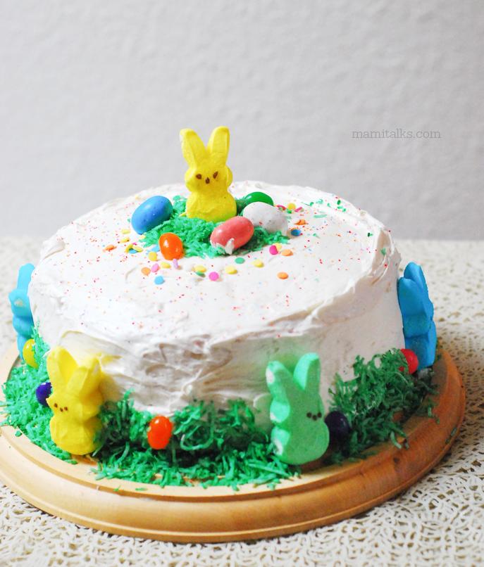 Easter Cake Decor : Mami Talks?: Easter Cake Decoration Idea