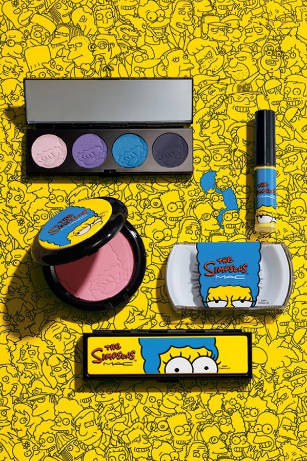 Preview: Collezione The Simpsons - MAC Cosmetics