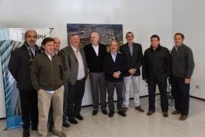 Joaquín de la Torre estuvo con las autoridades de la empresa IPH